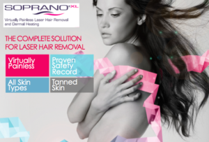 Soprano XL at Bare Tattoo & Hair Removal in Chicago and Munster